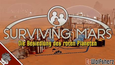 Surviving Mars Let's Play